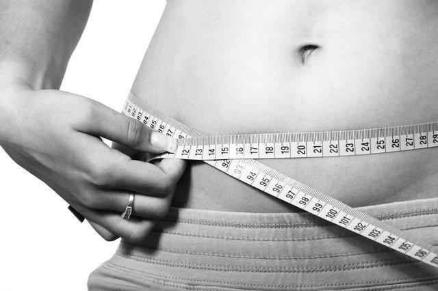 měření při hubnutí