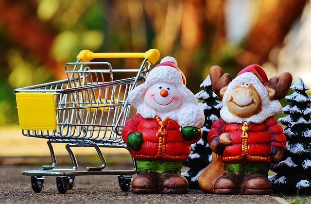 vánoční nakupování