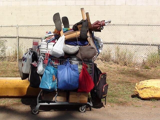 vybavení bezdomovců