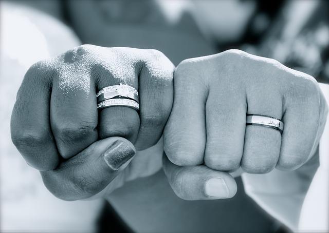 prsteny novomanželů