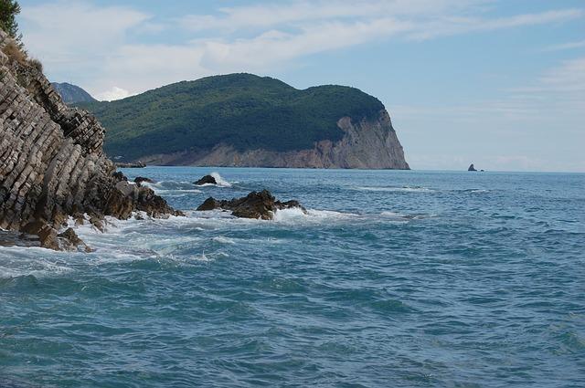moře a skály
