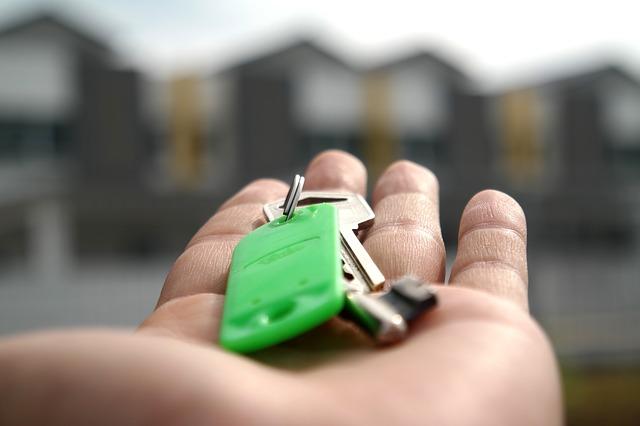 podání klíčů