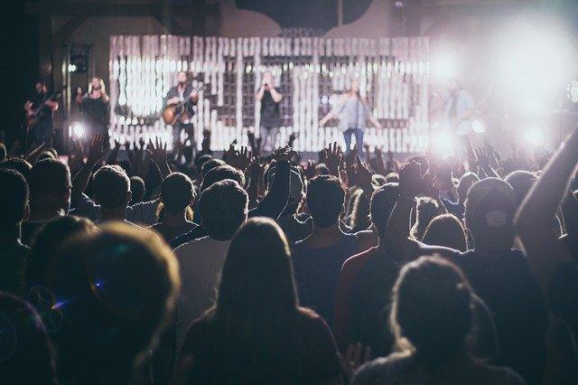 koncert v klubu