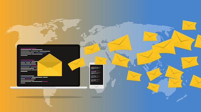 rozesílání mailů