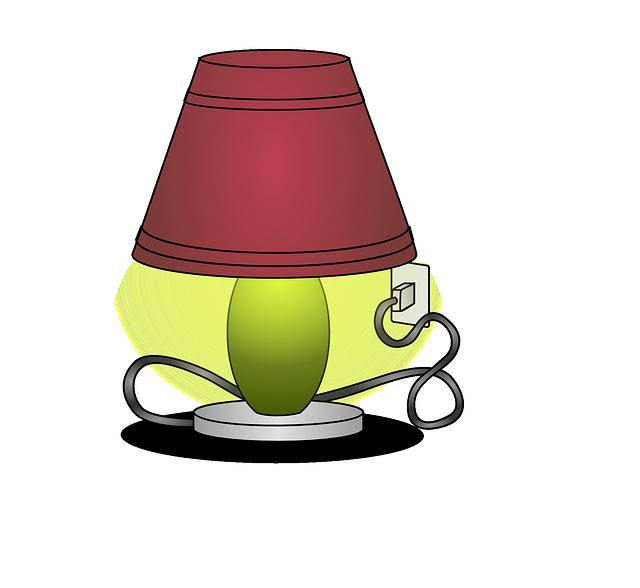lampička v zásuvce