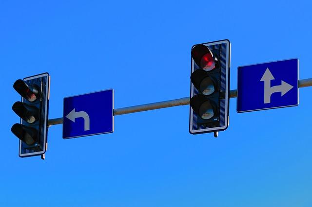 semafory a značky