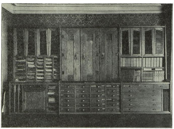 skříň starobylá