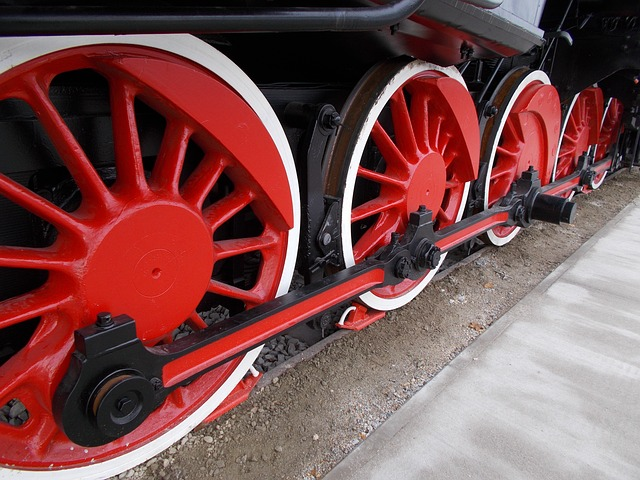 detail lokomotivy